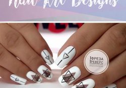 18 super cool geometric nail art designs that will take your breath away!