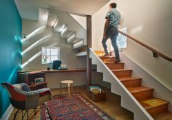 15 charming eclectic staircase designs that add color to your home