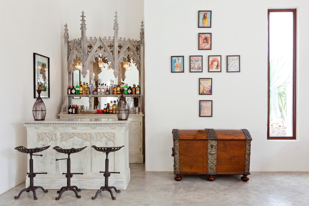 17 Stylish Classy Eclectic Home Bar Designs That You Need