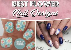 25 Delicate Flower Nail Designs Bring beautiful flowers into your fingertips!