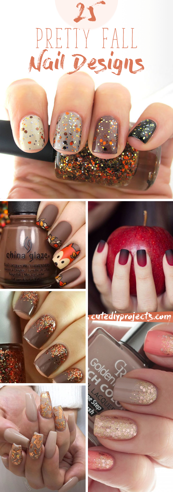 Beautiful autumn nail designs that let you celebrate autumn with your fingertips