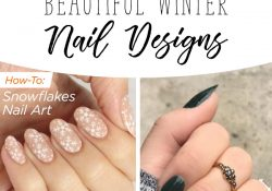 35 Beautiful winter nail design with 35 seasons within your reach