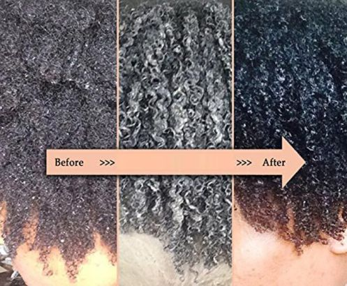 The Aztec clay mask for hair has a positive effect on the image
