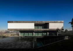 BE House of space workers in Paredes, Portugal