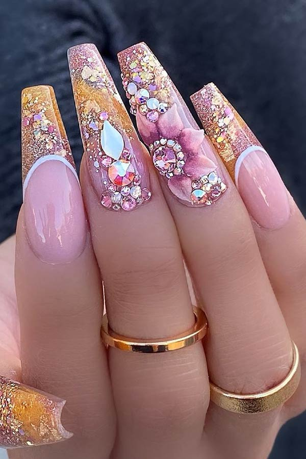 The most beautiful coffin nails
