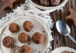 Gingerbread truffle: ready in 15 minutes!