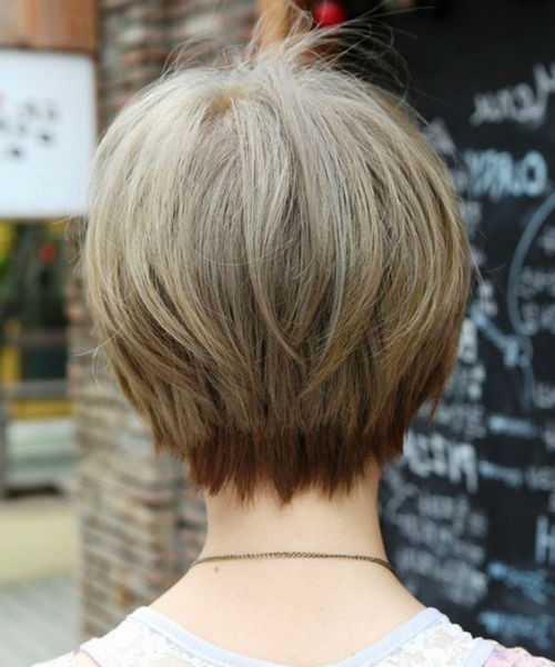 Short layer hairstyles 2020 rear view freaking 99 short layer hairstyles for the best short layer hairstyles 2020