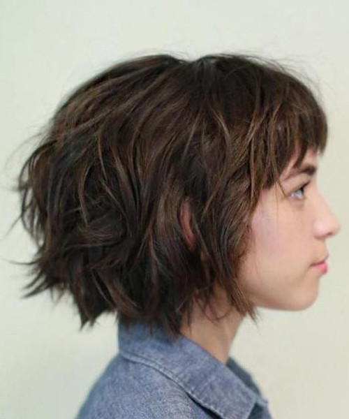 Short Layered Hairstyles 2020 Easy Wind Blown Short Layered Hairstyles for Women 99 Shortest Layered Hairstyles 2020