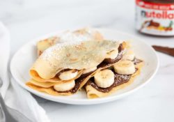 SIMPLE Nutella pancakes (made in a blender!)