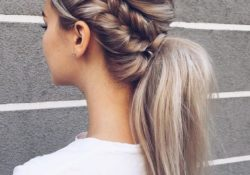 10 cute simple ponytail hairstyles for women - long hairstyles 2020