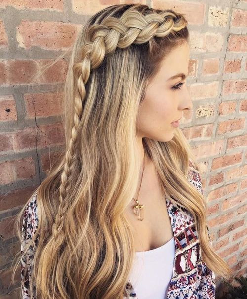 Sweet hairstyles for long hair 2020 Sweet hairstyles for long hair