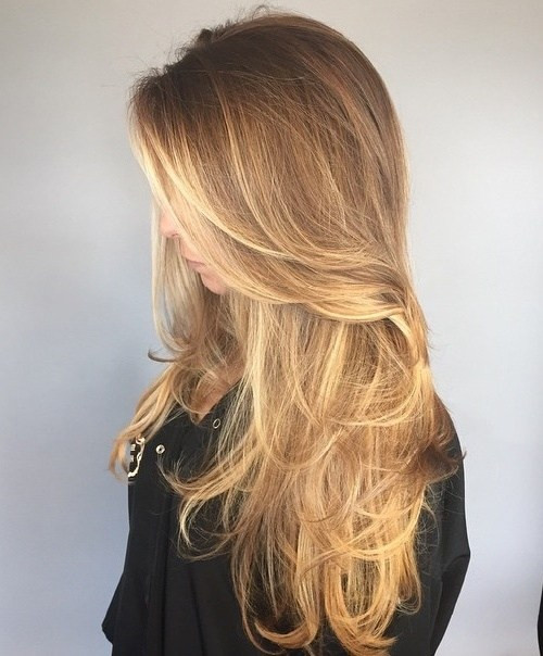 Sweet hairstyles for long hair 2020 80 Sweet layered hairstyles and cuts for long hair 2020