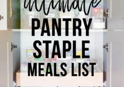 Ultimative Pantry Staple Dishes Liste