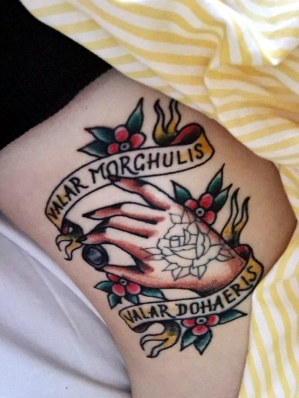 Imaginary Valar Morghulis Tattoo Designs (18)