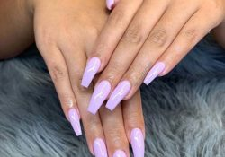 21 lavender coffin nails perfect for spring