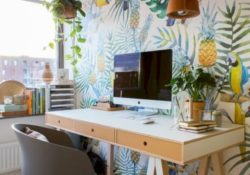 21 beautiful greenery to create a fresh atmosphere in your home office