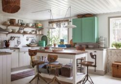 25 beautiful farmhouse kitchen ideas for a nice dining area