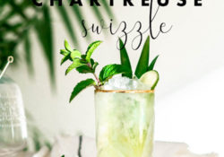Chartreuse Swizzle Recipe - Crafts and Cocktails
