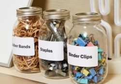 Work better with these 25 ideas for office organization