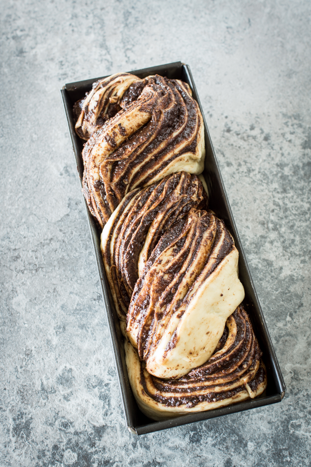Chocolate Nut Babka - Simple recipe and step-by-step instructions
