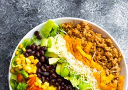 Healthy taco salad (+ tips for preparing dishes)