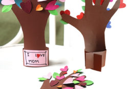 35 Simple handicrafts for Mother's Day to prepare a great dessert for children