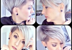 10 simple daily hairstyles for short straight hair - Pixie Haircut 2020