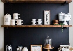 30 humble farmhouse kitchen coffee station that you can customize