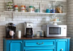 53 Simple but affordable ideas for kitchen coffee stations