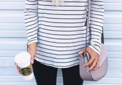 7 ways to draw lines - best striped outfit ideas for women