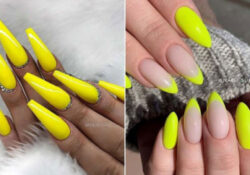 23 Yellow Nail Designs That Will Brighten Your Day