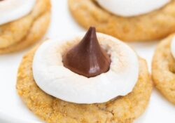Soft & Chewy S'mores Cookies