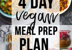 Vegan Pantry Meal Prep Plan