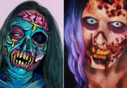 21 Scary Zombie Makeup Ideas for Halloween