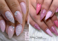 23 Classy and Cute Short Stiletto Nails