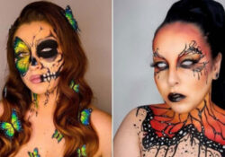 21 Most Beautiful Butterfly Makeup Ideas for Halloween