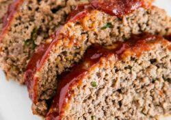 EASY Homemade Meatloaf Recipe - I Heart Naptime