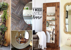 27 Cool DIY Mirrors To Add Glamour To All Sorts of Spaces