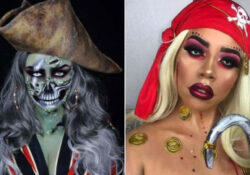 23 Pirate Makeup Ideas for Women to Copy This Halloween