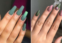 23 Olive Green Nails That Are Perfect for Fall