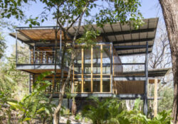 Costa Rica Steel Frame House With Jungle Inside