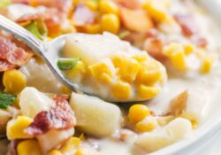 EASY Corn and Potato Chowder