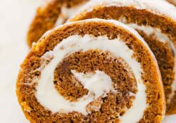 EASY Pumpkin Cream Cheese Roll Recipe
