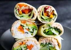 Salmon Wraps 3 Ways | sweetpeasandsaffron.com
