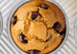 Pumpkin Chocolate Chip Muffins - I Heart Naptime