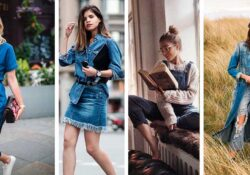 10 looks total denim cómodos para un domingo