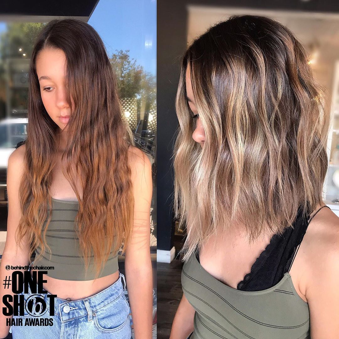 Stylish Shoulder Length Hairstyles for Thick Hair - Women Medium Haircuts and Color in 2021
