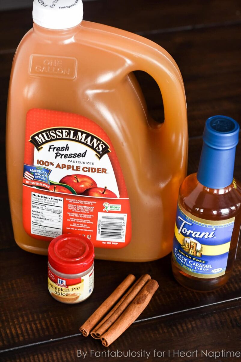ingredients for thanksgiving punch