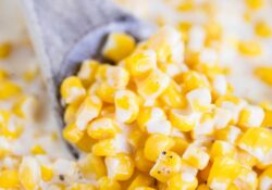 EASY Slow Cooker Creamed Corn (5 mins prep!)