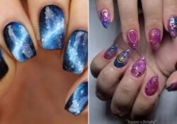 Galaxy Nails Trend - 23 Cute Designs and Ideas